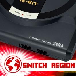 Switch Région + 50 / 60 Hz