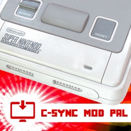 C-Sync Mod PAL