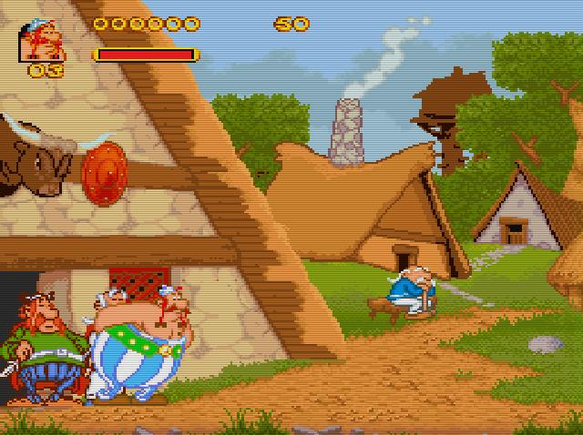 Asterix et Obelix Img 001 SNES