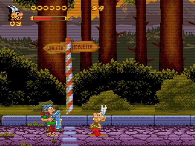 Asterix et Obelix Img 002 SNES