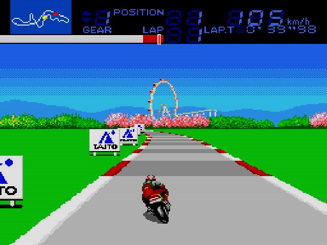 Bari Bari Densetsu Legend (Taito Bike Racing) Img 02