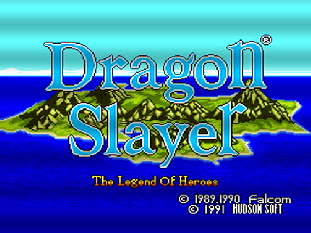 Dragon Slayer - Eiyuu Densetsu  (The Legend of Heroes) Img 01