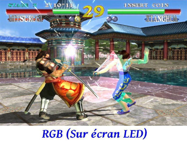Dreamcast - VGA vs RGB 03 640 x 480