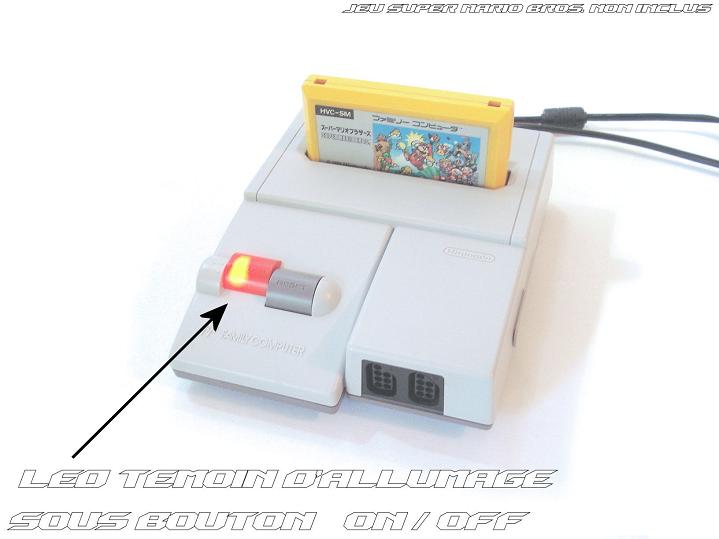 Famicom AV - Power Led + Texte (L720)