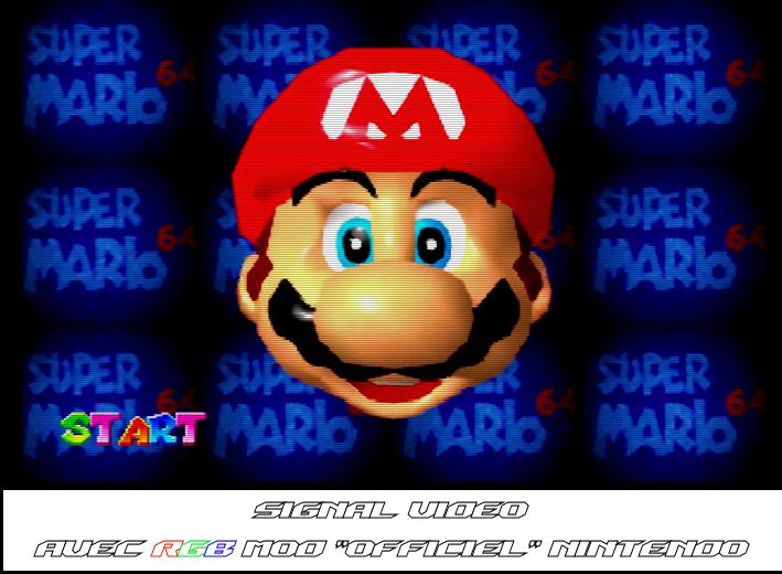 Mario 64 - RGB