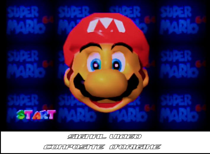Mario 64 - Composite AV