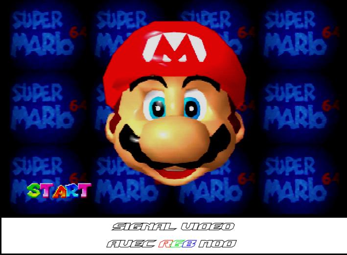 Mario 64 - RGB Mod JAP
