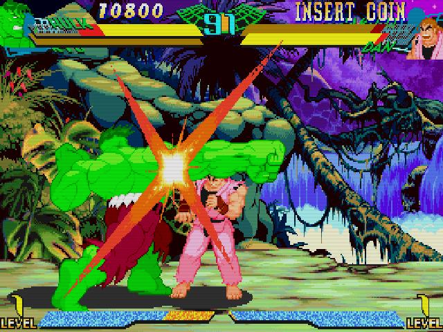 Marvel Super Heroes VS Street Fighter Img 01