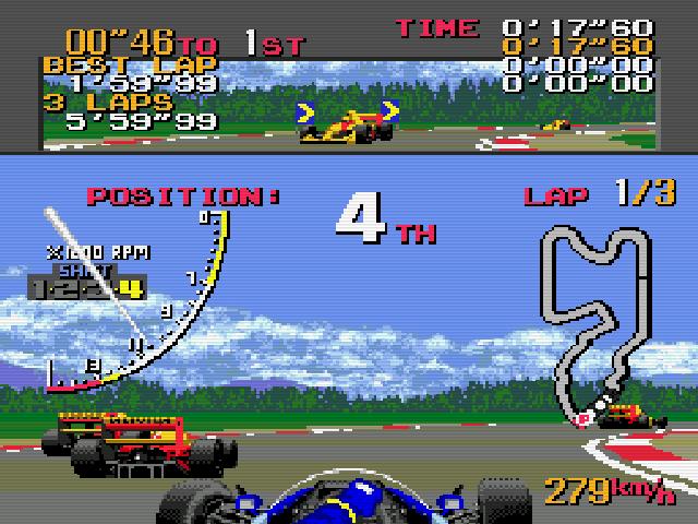 Megadrive - Super Monaco GP Img 02