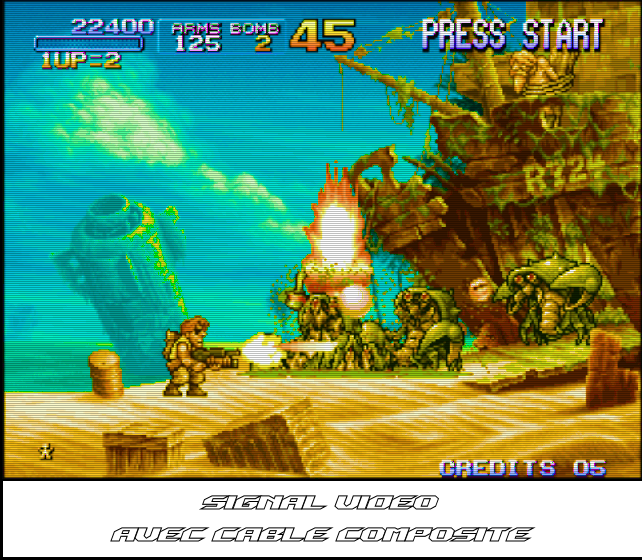 Metal Slug 3 - 01 Composite + Texte