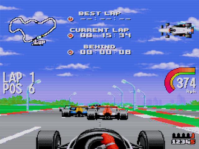 Newman Haas IndyCar featuring Nigel Mansell Img 01
