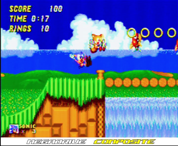 Sega - Megadrive - RGB Cable - Composite