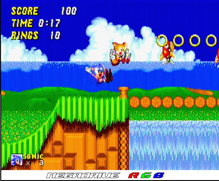 Sega - Megadrive - RGB Cable - RGB