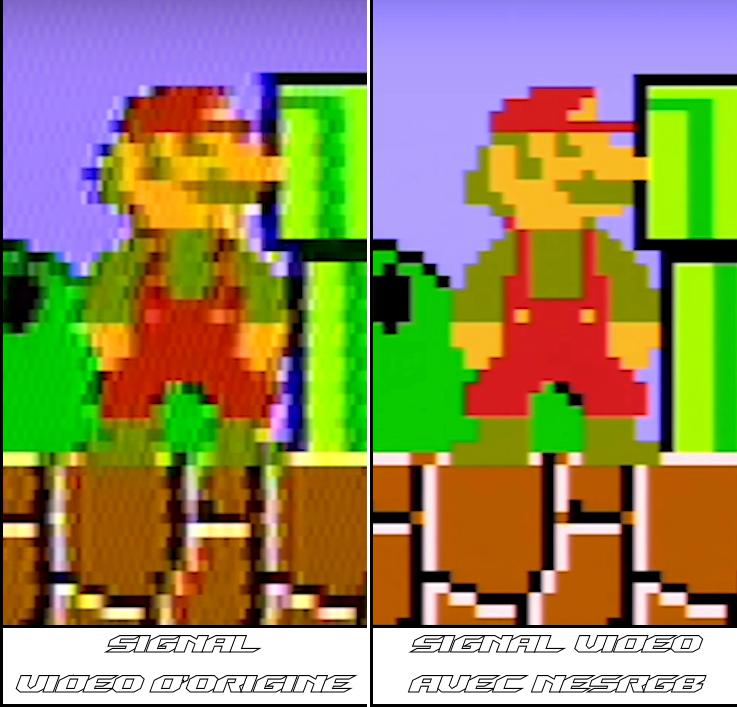 Signal Video D origine vs RGB 01 - Signal Video D origine 02 Texte 02