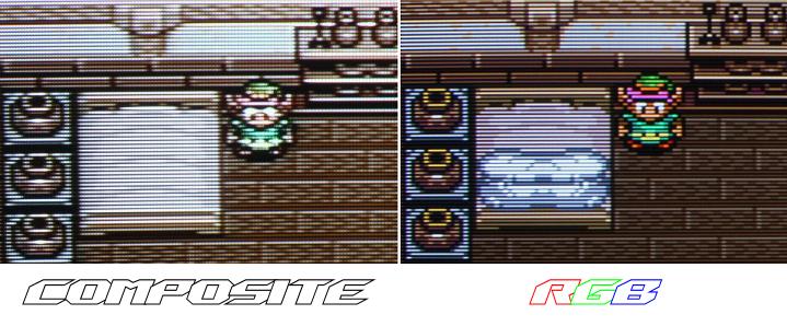 Super Nintendo - Gros Plan Comparo