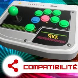 Compatibilité Arcade Stick